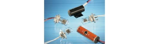 Lampes pour détecteur UV