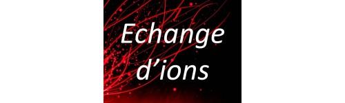 Echange d'ions
