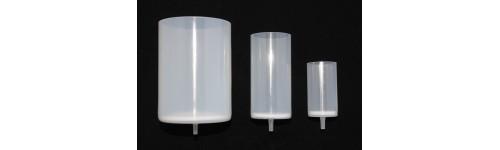 Entonnoirs de filtration jetables