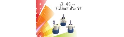 GL45 avec robinet d'arrêt
