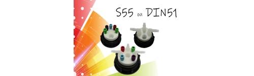 Pour col S55 ou DIN51