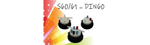 Pour col S60/61 ou DIN60