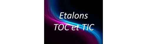 Etalons TOC/TIC