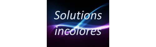 Solutions tampon incolores