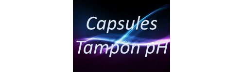 Capsules tampon pH