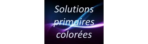 Solutions primaires colorées