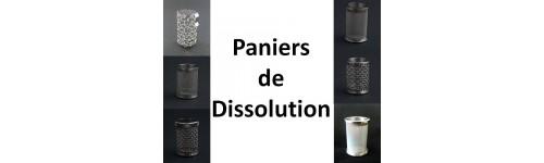 Paniers de dissolution