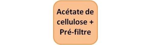 Acétate de cellulose + Pré-fil